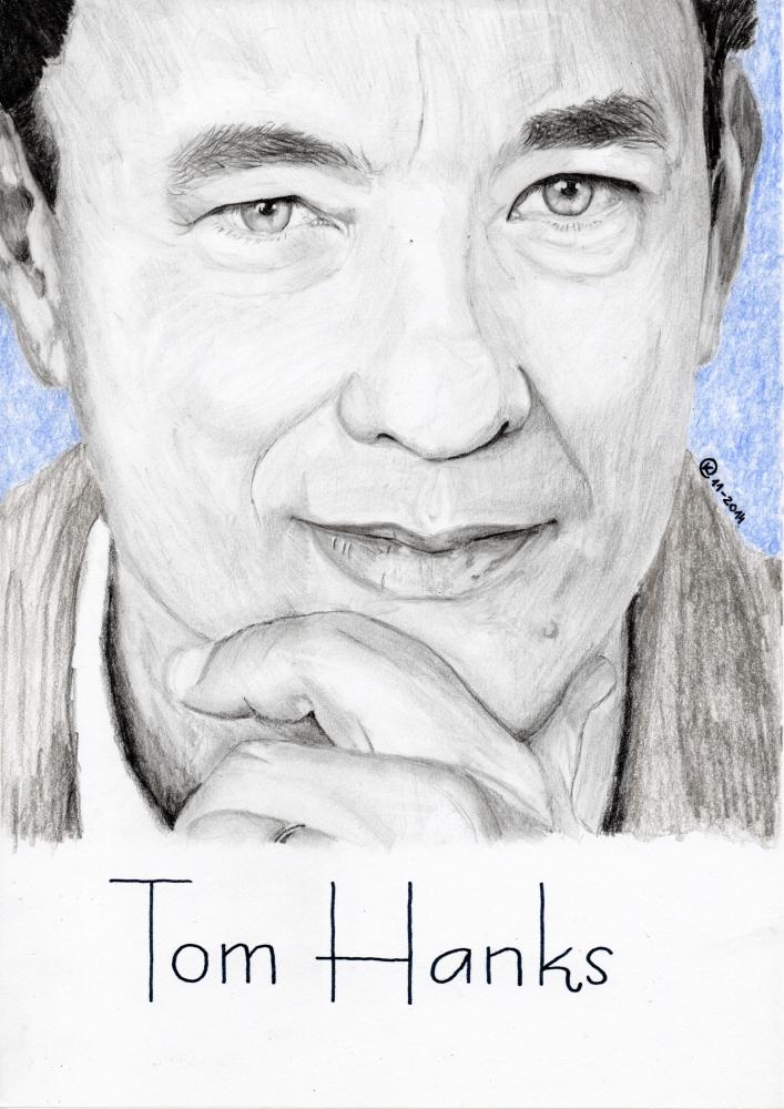 Tom Hanks by KasiaK